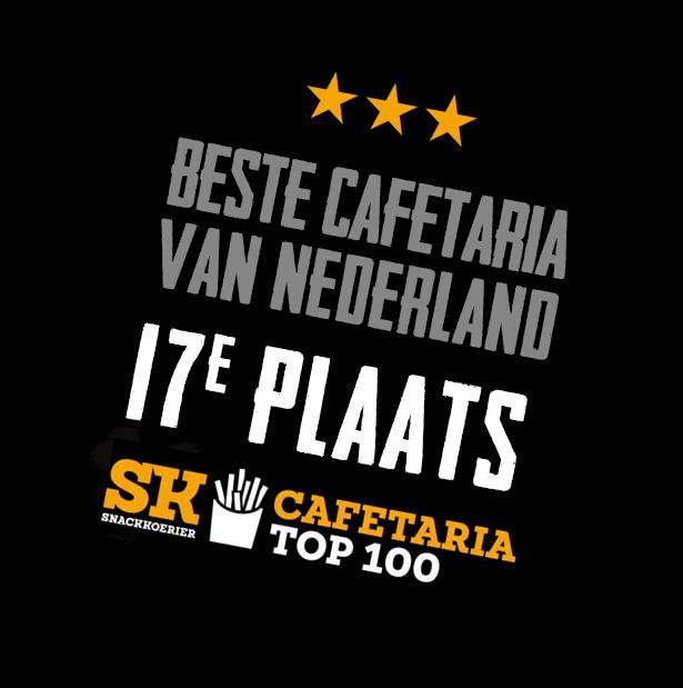Eetwinkel Select plaats 17 Cafetaria Top 100, Beste van Brabant